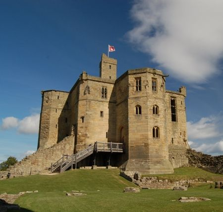 Warwick Castle keep