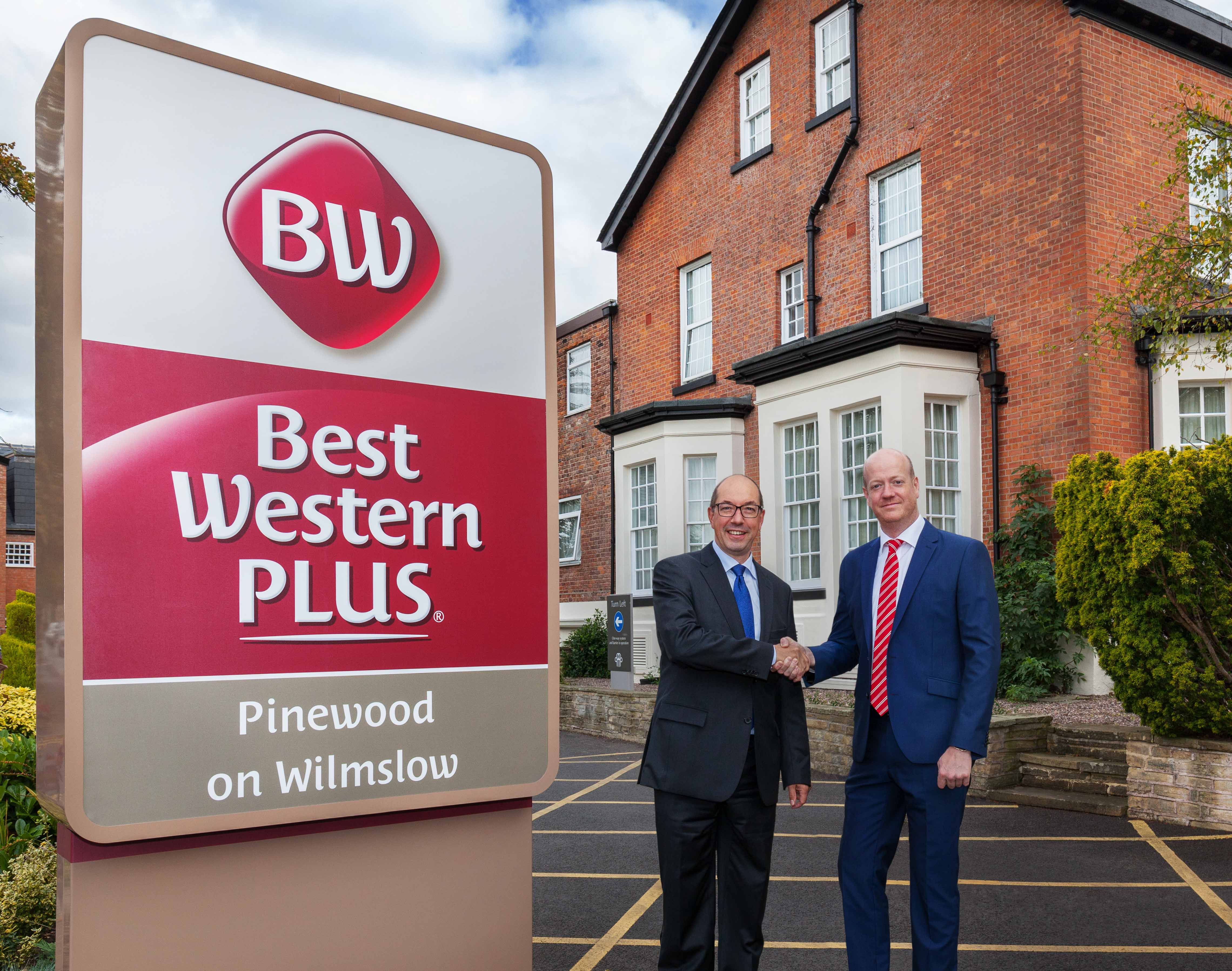 Best Western Tim Rumney and Les Asplen