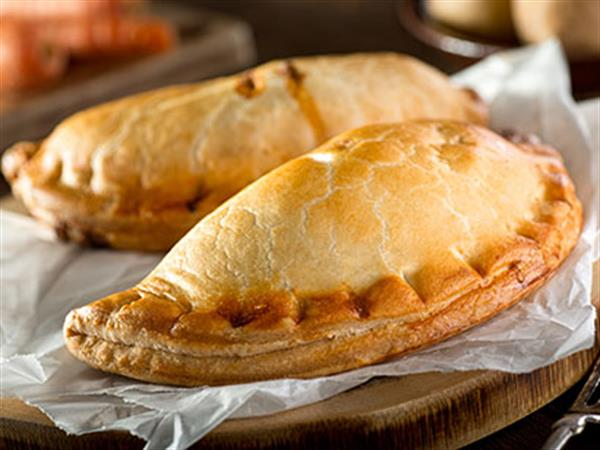 Cornish pasty up close