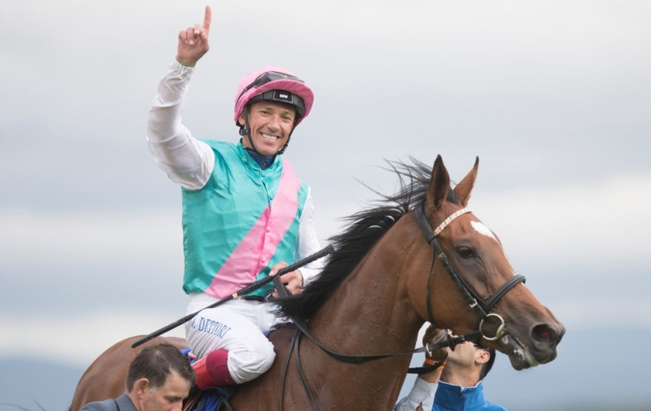 Enable and Frankie Dettori winning LArc