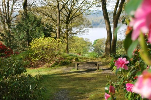 Stagshaw Gardens, the Lake District