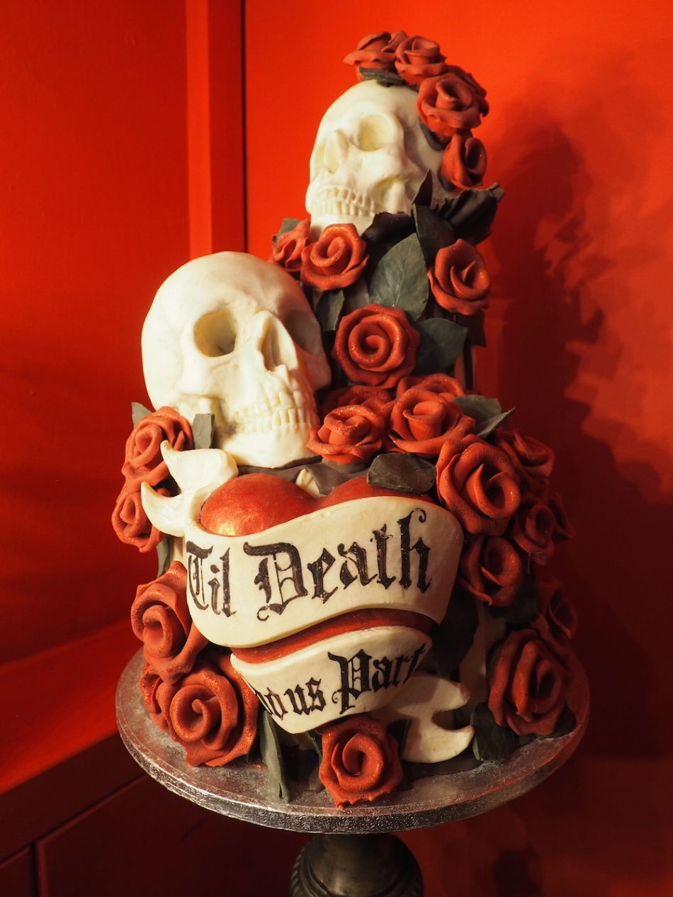 Till Death Do Us Part Cake