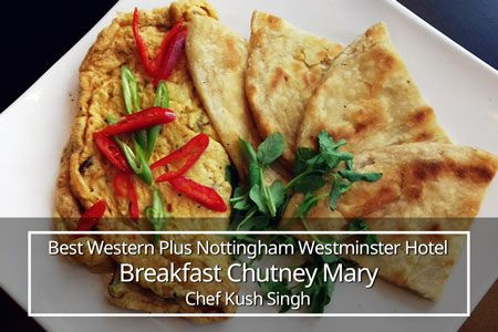 Best Western Plus Nottingham Westminster Hotel breakfast
